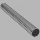 Труба D25 (3000мм), толщина стенки 0,8 мм, хром