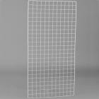 Решетка белая, 1500*750мм, 2мм, ячейка 50*50мм